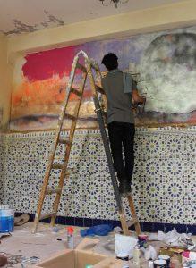 bosworthpropertymarrakech.com - marrakech biennale - buy riad in marrakech - workshop