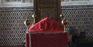 historical marrakech - inside a mausoleum - bosworthpropertymarrakech.com