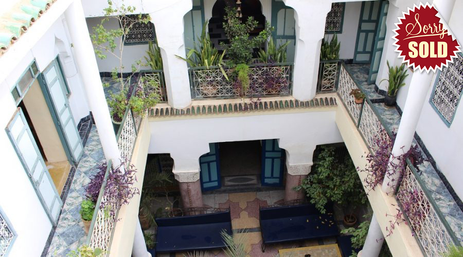 Riad for sale in dar el bacha marrakech bosworth property for Top 10 riads in marrakech