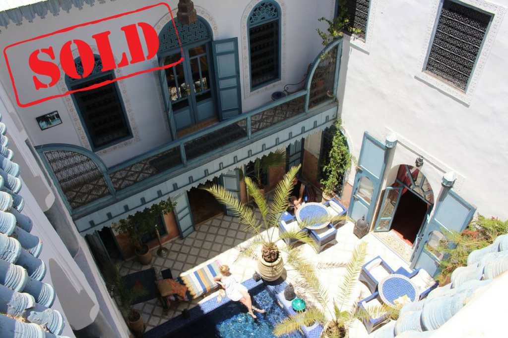 Gorgeous Old Riad For Sale Marrakech - Riads For Sale Marrakech from Bosworth Property - Marrakech Realty - Marrakech Real Estate - Riads a Vendre