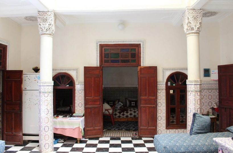 Cafe and Riad For Sale Marrakech Medina ...