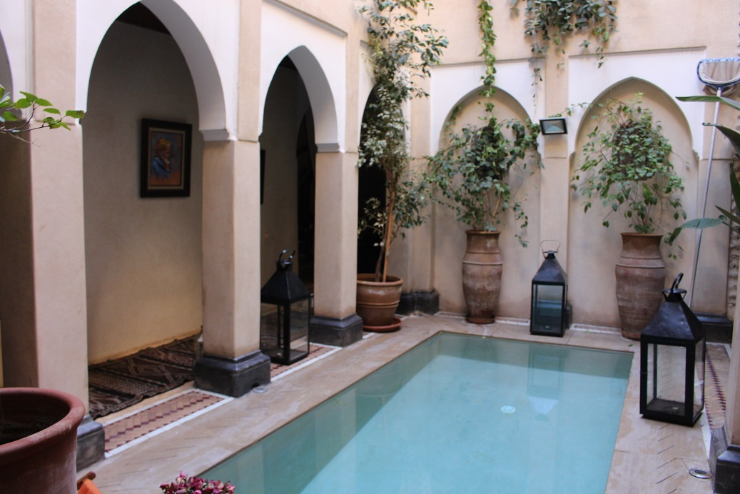 Elegant Riad For Sale Marrakech Top Location Dar El Bacha