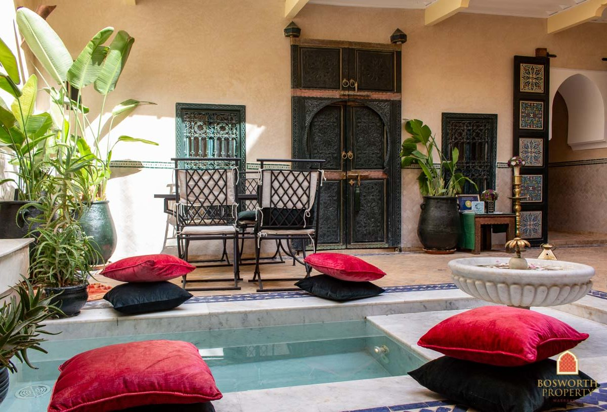 Riads For Sale Marrakech - Value Riad For Sale Marrakech - Marrakesh Realty - Marrakech Real Estate - Immobilier Marrakech - Riads a Vendre Marrakech