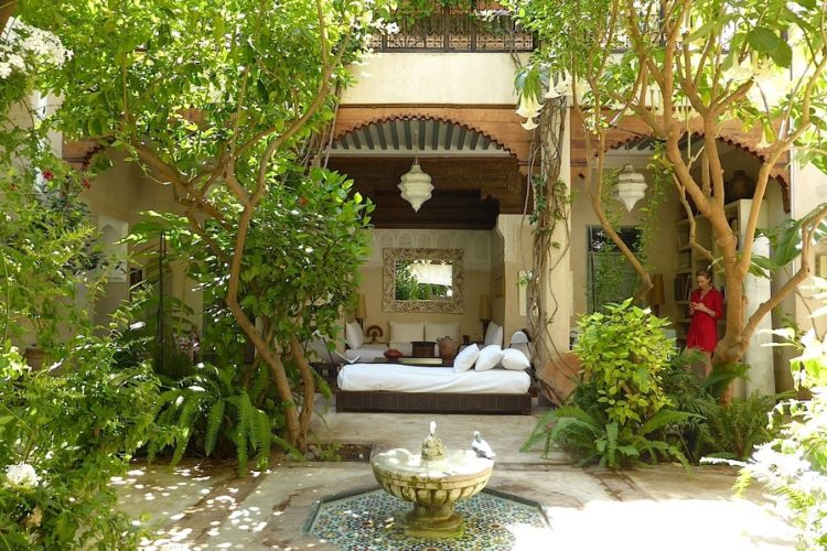 Sumptuous garden riad for sale marrakech - Riad medina marrakech avec piscine ...