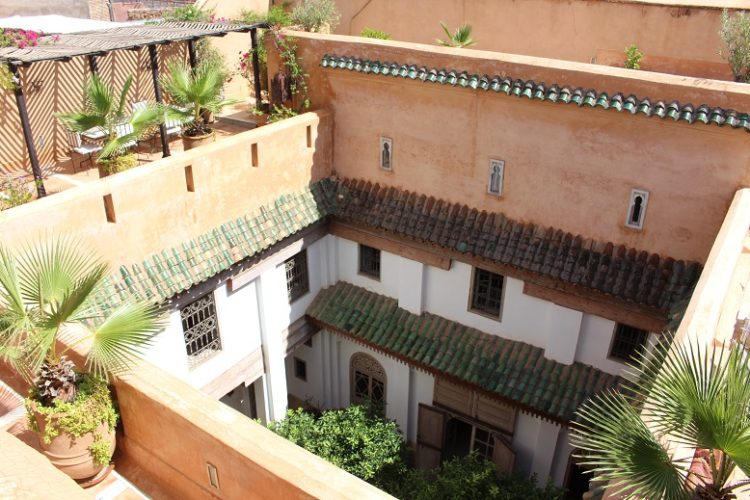 17th Century Riad Till salu Marrakech - Riads Till salu Marrakech från Bosworth Property - Marrakech Realty - Marrakech Fastigheter - Immobilier Marrakech - Riads a Vendre Marrakech