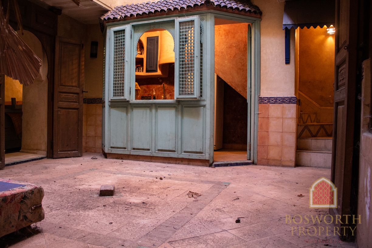 Fantastic Bargain Riad for Sale Marrakech - Riads For Sale Marrakech from Bosworth Property - Marrakesh Realty - Marrakech Real Estate - Immobilier Marrakech - Riads a Vendre Marrakech