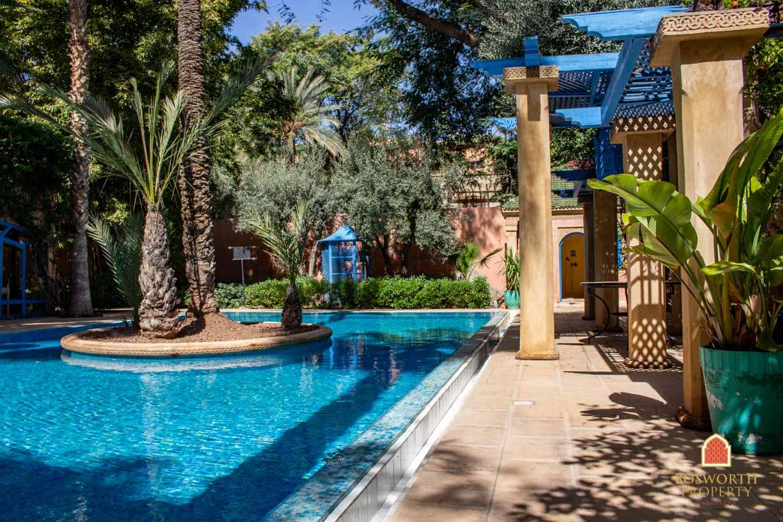 Villa For Sale Marrakech Hivernage - Riads For Sale Marrakech - Riad For Sale Marrakech - Marrakesh Realty - Marrakech Real Estate - Immobilier Marrakech - Riads a Vendre Marrakech