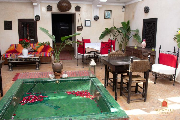 Riad Guesthouse For Sale Marrakech - Riads For Sale Marrakech - Riad For Sale Marrakech - Marrakesh Realty - Marrakech Real Estate - Immobilier Marrakech - Riads a Vendre Marrakech