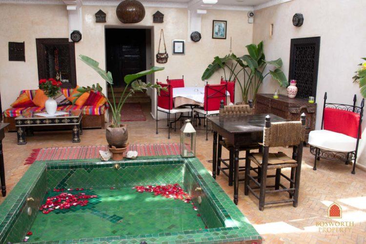 Riad Casa de huéspedes en venta Marrakech - Riads en venta Marrakech - Riad en venta Marrakech - Marrakech Realty - Marrakech Inmobiliaria - Immobilier Marrakech - Riads a Vendre Marrakech