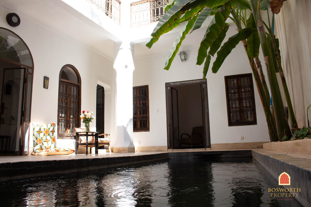 Riads For Sale Marrakech - Perfect Riad For Sale Marrakech - Marrakesh Realty - Marrakech Real Estate - Immobilier Marrakech - Riads a Vendre Marrakech