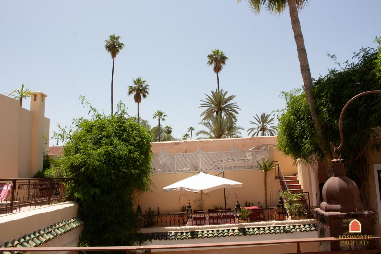 Riads For Sale Marrakech - Underbar Riad Till Salu Marrakech - Marrakech Realty - Marrakech Fastigheter - Immobilier Marrakech - Riads A Vendre Marrakech