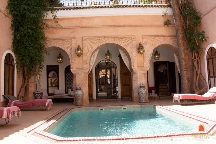Riads For Sale Marrakech - Wonderful Riad For Sale Marrakech - Marrakesh Realty - Marrakech Real Estate - Immobilier Marrakech - Riads a Vendre Marrakech