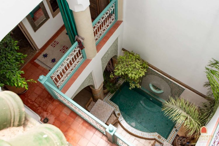 Riads zu verkaufen Marrakesch - Wunderschönes kleines Riad zu verkaufen Marrakesch - Immobilien in Marrakesch - Immobilien in Marrakesch - Riads a Vendre Marrakech