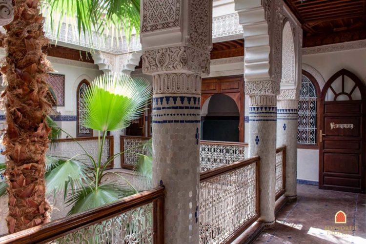 Excepcional Riad Guesthouse en venta - Riads en venta Marrakech - Riad en venta Marrakech - Marrakesh Realty - Marrakech Real Estate - Immobilier Marrakech - Riads a Vendre Marrakech