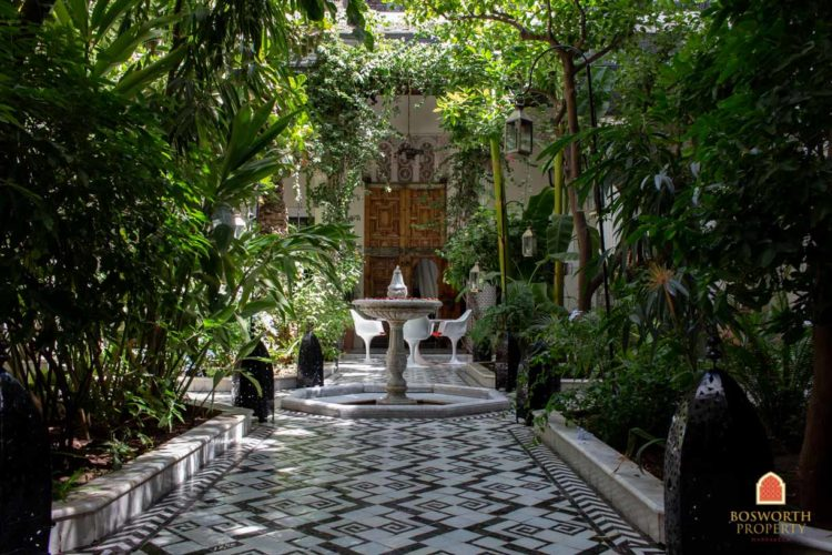 Riads en venta Marrakech - Riad en venta Marrakech - Marrakesh Realty - Marrakech Inmobiliaria - Immobilier Marrakech - Riads a Vendre Marrakech - Riad histórico Guesthouse en venta Marrakech