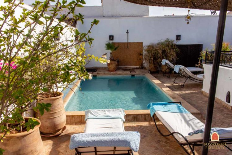 Riads For Sale Marrakech -Fabulous Riad Guesthouse For Sale Marrakech - Marrakesh Realty - Marrakech Real Estate - Immobilier Marrakech - Riads a Vendre Marrakech