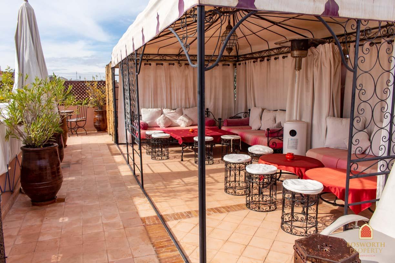 Riads For Sale Marrakech - Elegant Riad Guesthouse For Sale Marrakech - Marrakesh Realty - Marrakech Real Estate - Immobilier Marrakech - Riads a Vendre Marrakech