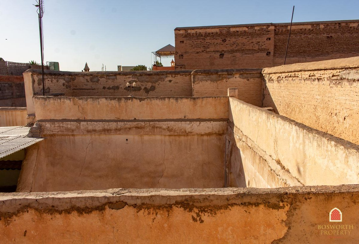Riads For Sale Marrakech - Riad To Renovate - Riads a Vendre - Marrakech Real Estate - Marrakech Realty - Riad Ruin For Sale Marrakech