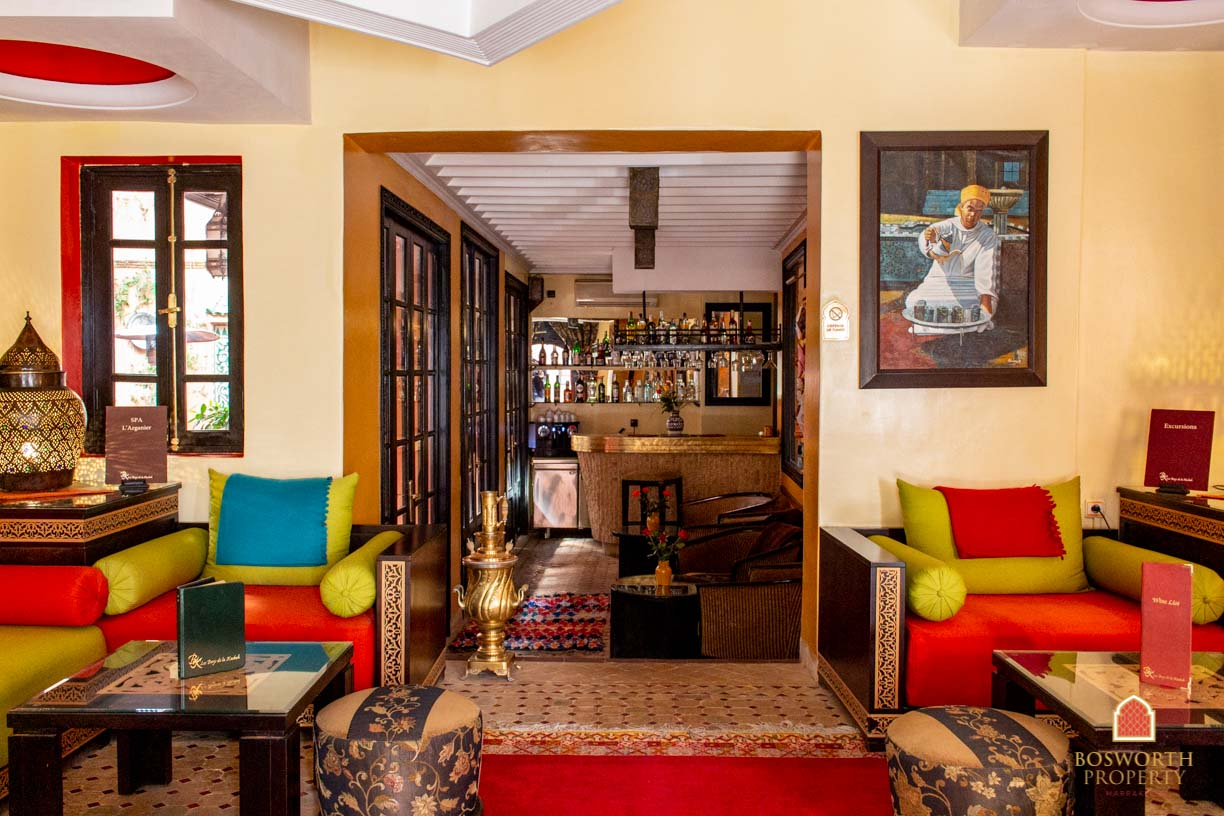 Riads For Sale Marrakech-販売のためのホテルマラケシュ-Immobilier Marrakech-Riads a Vendre