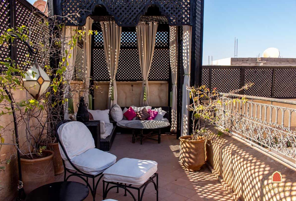 Riads For Sale Marrakech - Marrakesh Realty - Marrakech Real Estate - Sweet Riad For Sale Marrakech