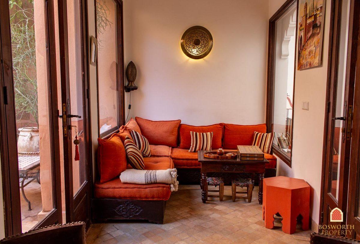 Riads For Sale Marrakech -Garden Riad For Sale Marrakech - Marrakesh Realty - Marrakech Real Estate - Immobilier Marrakech - Riads a Vendre Marrakech