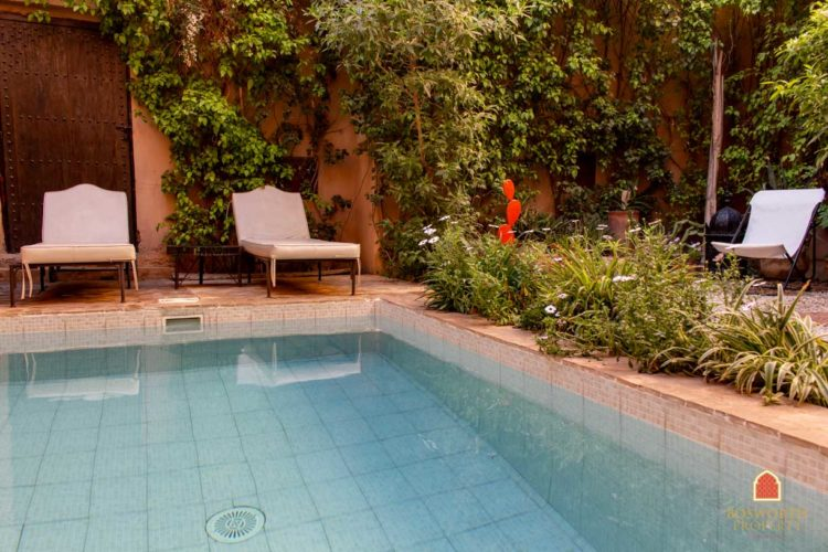 Riads For Saleマラケシュ-Garden Riad For Sale