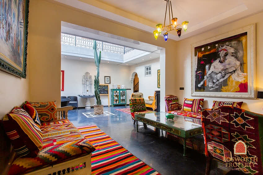 Boutique Hotel For Sale Marrakech Medina - Riads For Sale Marrakech - Marrakech Real Estate - Marrakech Realty