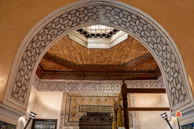 Mauresque Marrakech - Riads For Sale Marrakech - Stunning Historical Riad For Sale Marrakech - Marrakech Real Estate - Marrakesh Realty - Marrakech Property - Riads A Vendre