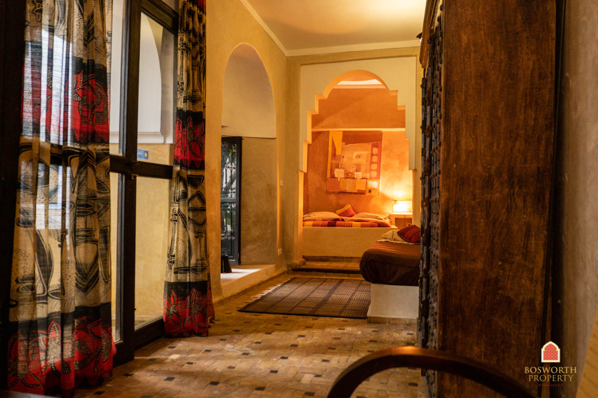 Riads For Sale Marrakech - Stunning Historical Riad For Sale Marrakech - Marrakech Real Estate - Marrakesh Realty - Marrakech Property - Riads A Vendre