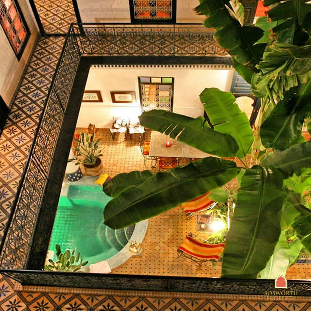 Riads For Sale Marrakech - Riad Guesthouse For Sale Mouassine Marrakech - Marrakesh Realty - Marrakech Real Estate - Immobilier Marrakech - Riads a Vendre Marrakech