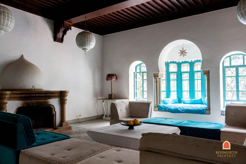 Historic Luxury Villa For Sale Marrakech Palmeraie