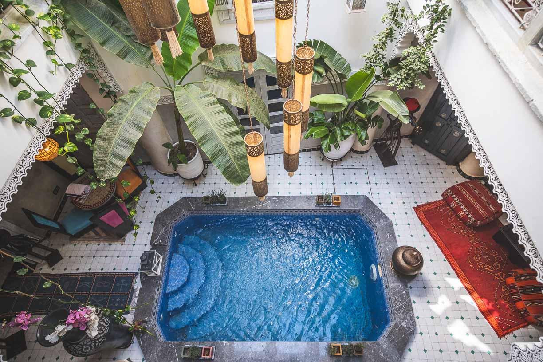 9 en suite Riad For Sale Marrakech - Riads For Sale Marrakech - marrakech real estate - hotel for sale marrakech - immobilier marrakech - riads a vendre marrakech